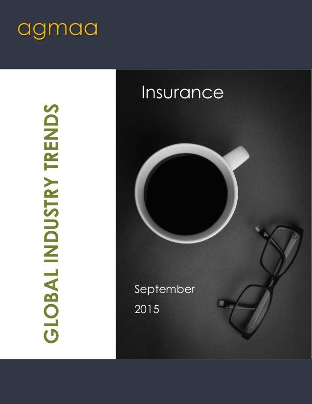 Insurance September 2015 GLOBALINDUSTRYTRENDS