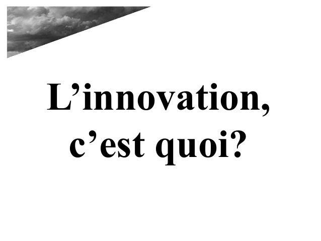 Qu 39 est ce que l 39 innovation for Qu est ce que l architecture