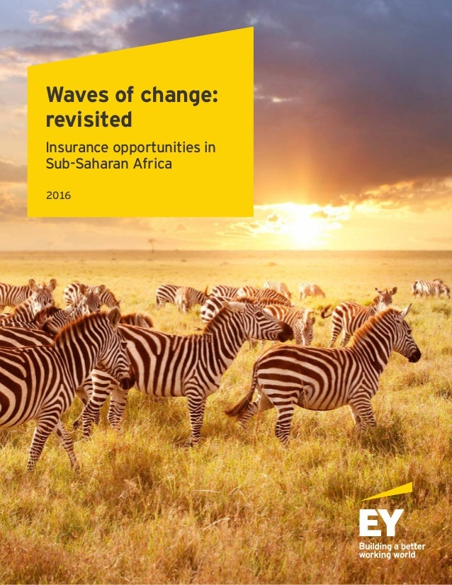 Waves of change: revisited Insurance opportunities in Sub-Saharan Africa 2016