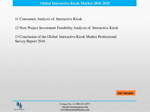 Global Interactive Self-service Kiosk Market Research Report 2018