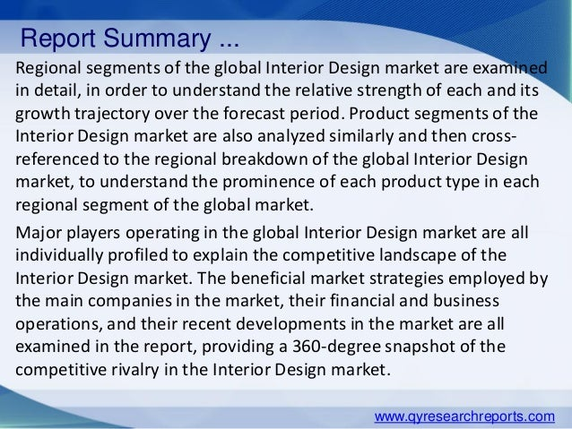 Global Interior Design Market 2015 Industry Analysis Research Trends Growth Share And Overview