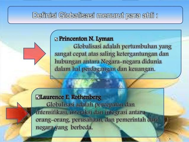 Globalisasi (pengertian)