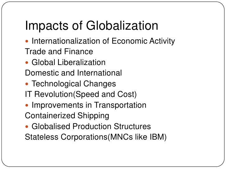 an analysis of globalization and its factors Non-response bias analysis  globalization and its effects globalization is an interesting phenomenon since it is obvious that the world has been going.