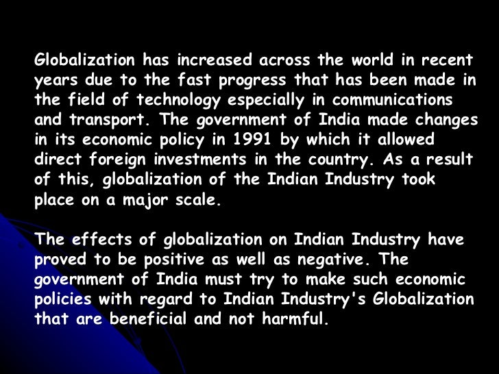 globalisation has allowed the economies of Citation: globalization  refers to the integration of economies around the globe via the removal of  as globalization has swept around the world over.