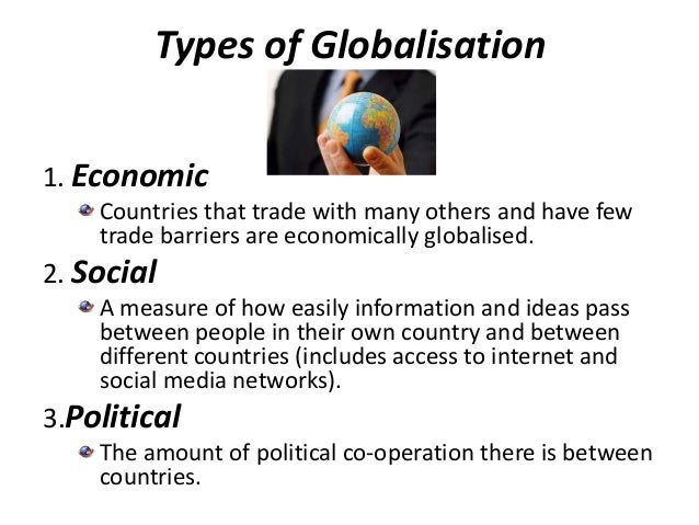 consequences of globalisation in points