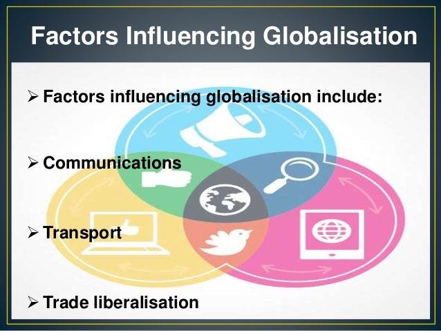 factors affecting globalization pdf
