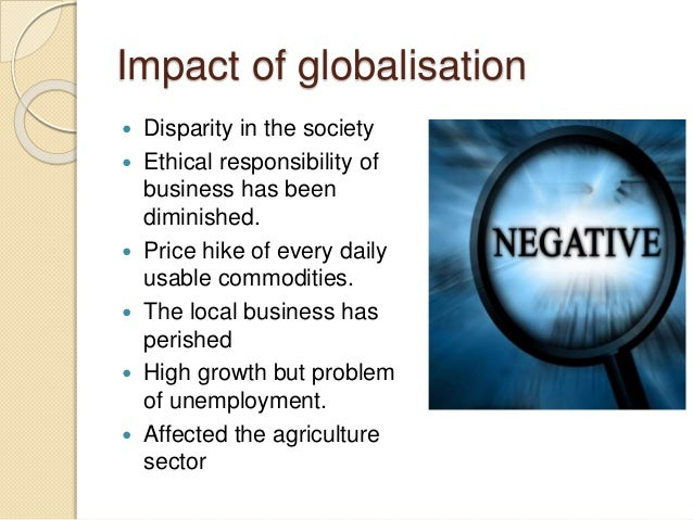 globalization impact on local business