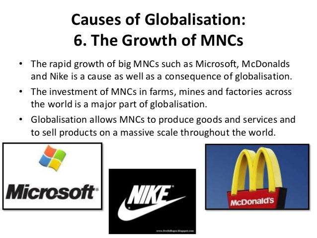 Globalisation Of Food Production