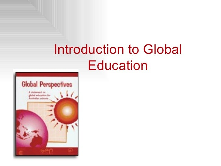 Introduction to Global Education