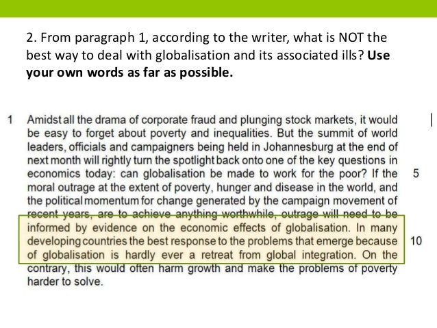 globalisation paragraph
