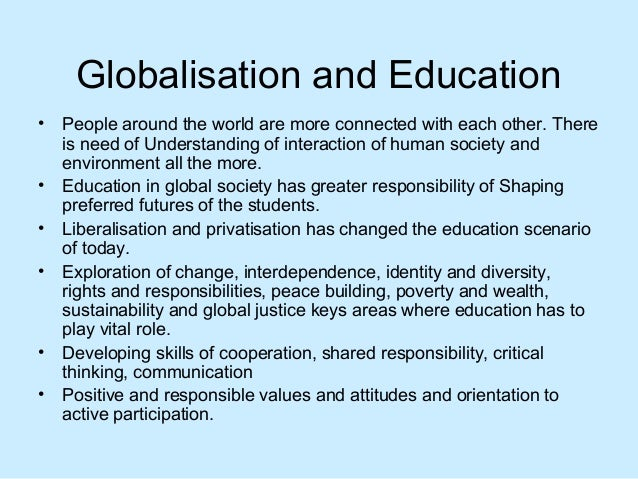 GLOBALIZATION CULTURE AND ARCHITECTURAL EDUCATION IN NIGERIA.