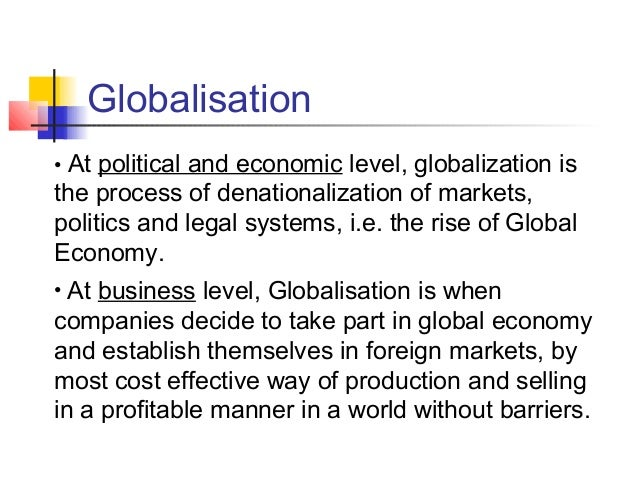 globalisation and emerging markets Globalization and the changing face of educational leadership: current trends and emerging  and the way that it interacts with global markets will lead.