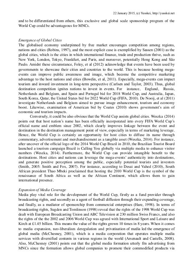Nike and globalization essay