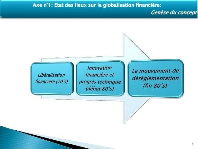 La globalisation financière - Mots | Etudier