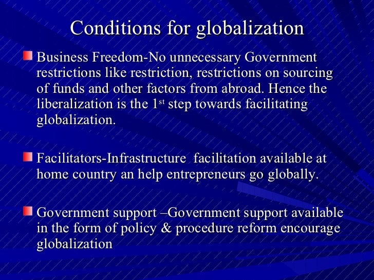 globalization powerpoint presentation