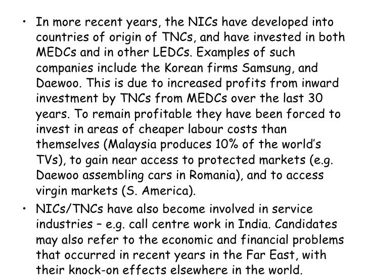 the world categorized into medcs nics and ledcs The the world categorized into medcs nics and ledcs is one of the most popular assignments among students' documents if you are stuck with writing or missing ideas, scroll down and find inspiration in the best samples.