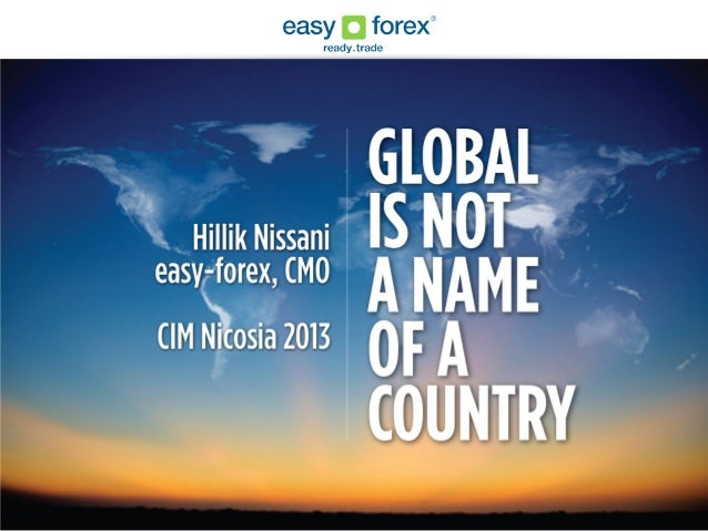 ABOUT EASY FOREXOnline trading group founded in 2003operating in 160 countriesHQ in Limassol150 employees worldwide