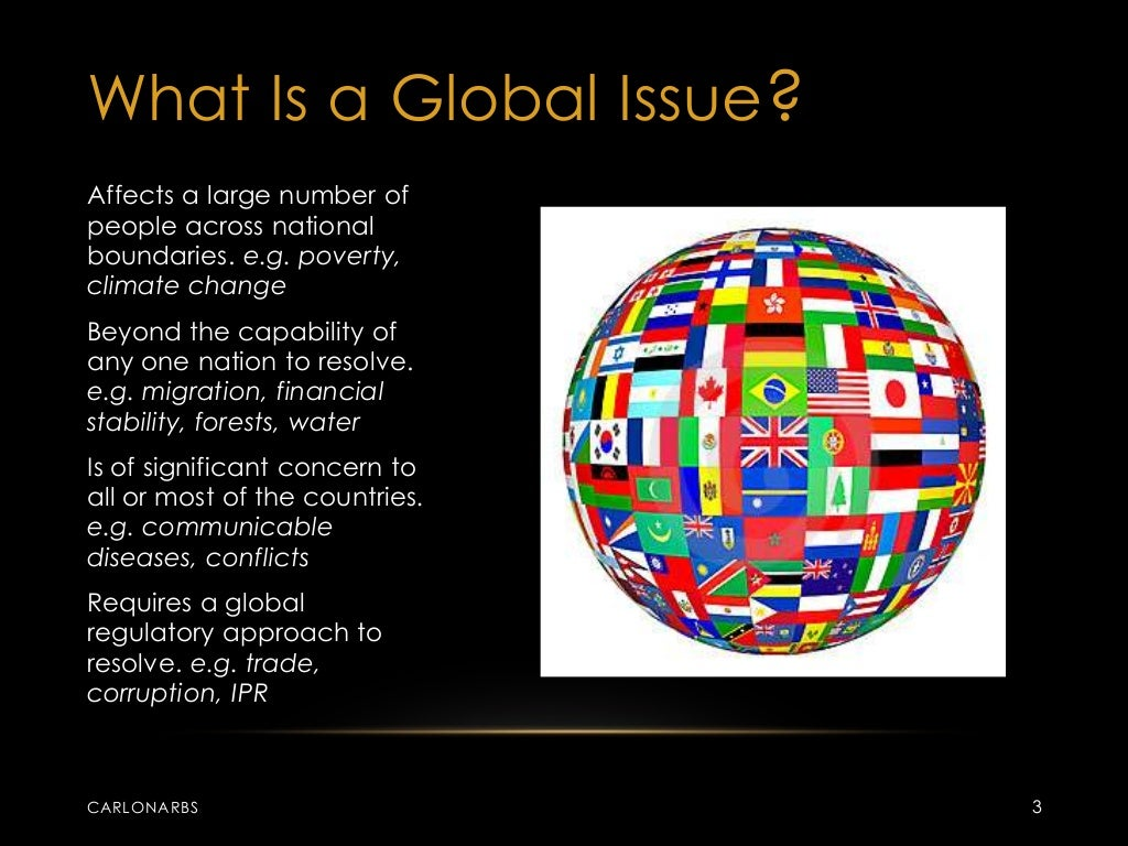 poverty global issue