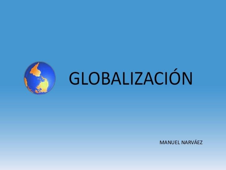 MANUEL NARVÁEZ
