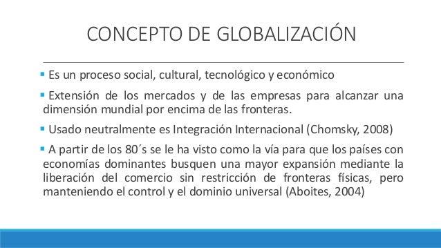 Globalización Slide 2