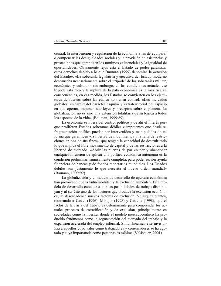 Deibar Hurtado Herrera                                               109   central, la intervención y regulación de la eco...