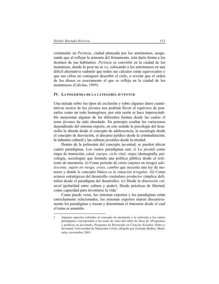 Deibar Hurtado Herrera                                                        113   cretamente en Perinzia, ciudad planead...