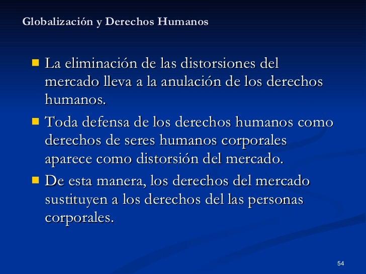 GLOBALIZACION Y DERECHOS HUMANOS PDF