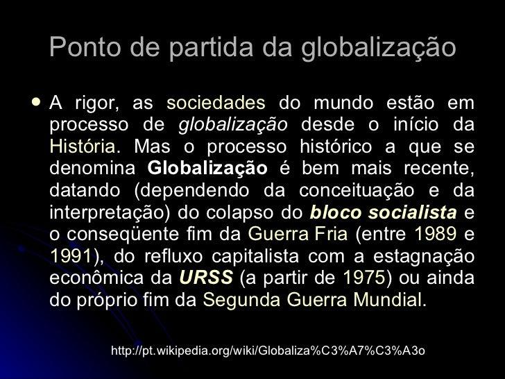 GlobalizaçãO Slide 2