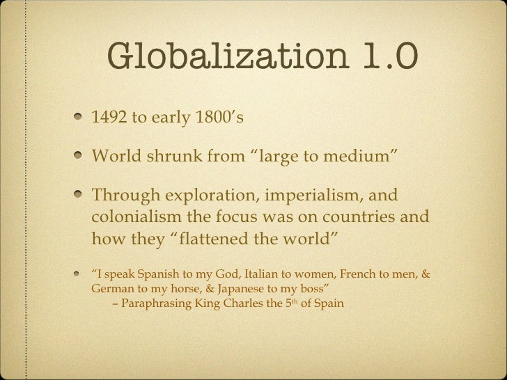 "early globalization T he horizons of this project, which responds to the chal- lenges of globalization,  are broad its full title is ""art  space and mobility in early ages of globalization:."