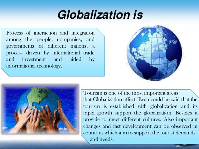 advantages of globalization in tourism