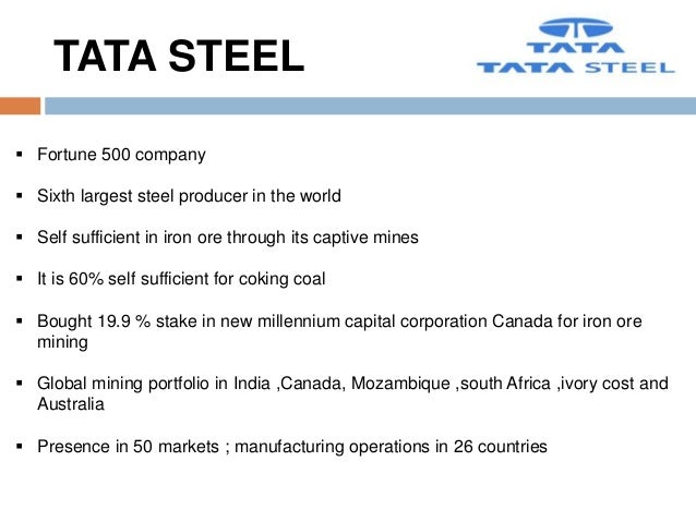 impact of globalization on tata steel How big of a deal is china just ask tata steel , vale , rio tinto  the list is long  of steel makers and iron ore exporters that have been crushed.