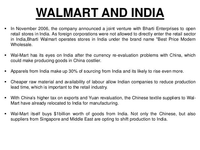 china india and wal mart issues of price quality and sourcing If you're interested in moving manufacturing from china to pursue sourcing in vietnam, you need to consider these three factors first.
