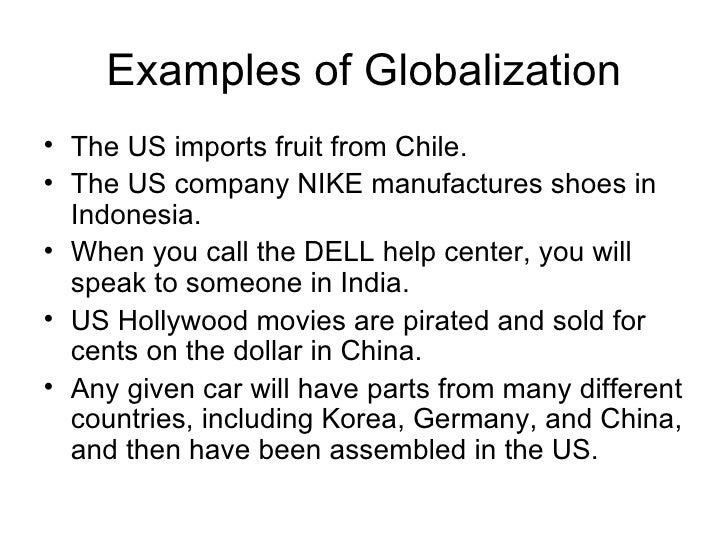 Globalization And A Changing World[1]