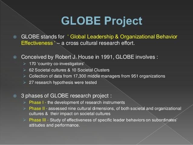 Robert j house globe project