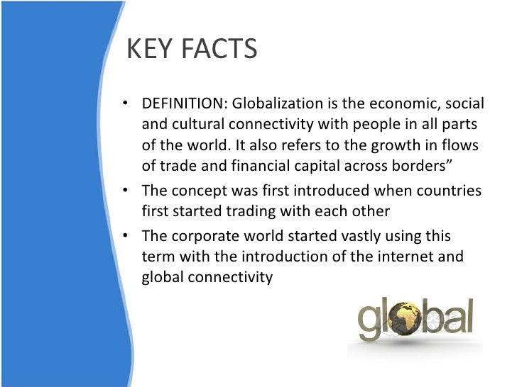 disadvantages of globalization Free essay: globalization is the shrinking of the world and the increased consciousness of the world as a whole it is a term used to describe.