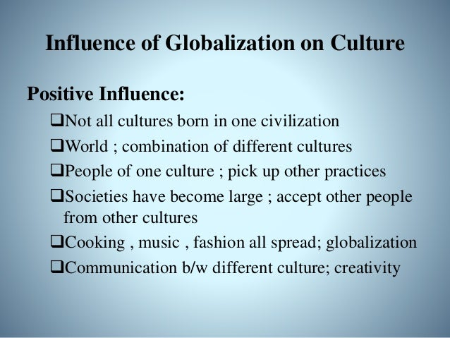 Cultural Globalization and IR • IR has used globalization to reach its goal of understanding cultures • focus on how count...