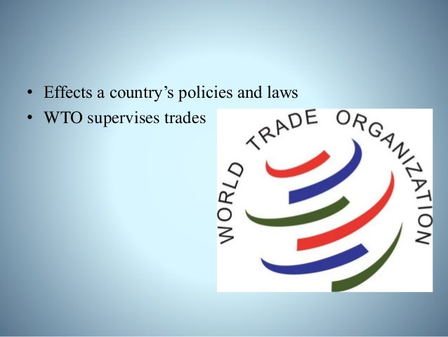 Effects of Economic Globalization on Developing Countries: Positive Effects: • Increased standard of living • Access to ne...