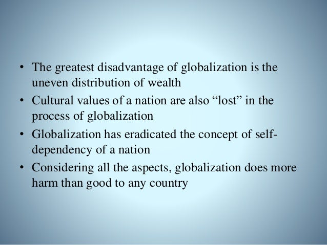 Globalization and ir