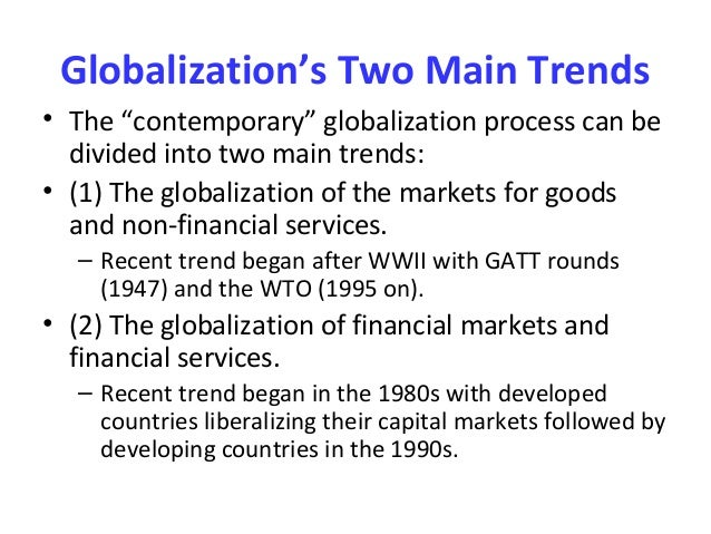 globalization as the inexorable integration of Lying at the core of global studies, globalization still remains among the most  ' an inexorable integration of markets' and 'a worldwide integration of humanity'.