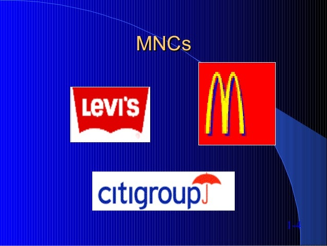 MNCsMNCs 1-4