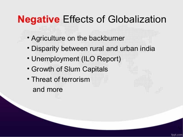 Argumentative Essay: Negative Effects of Globalization