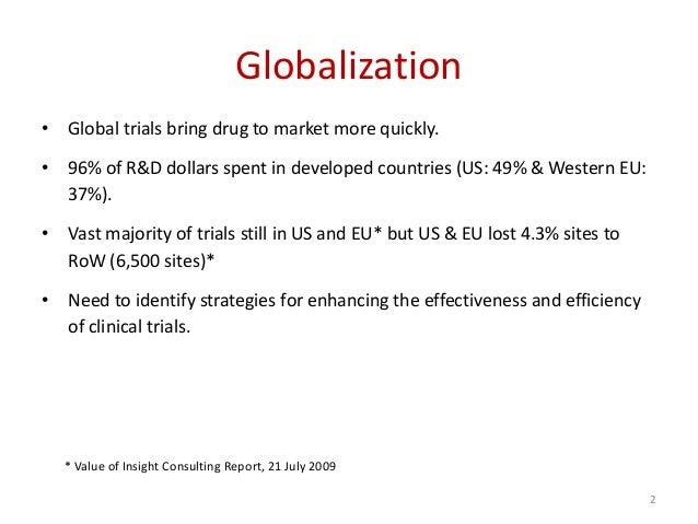Globalization Of Clinical Trials 2010   Josep M. Badenas Slide 2