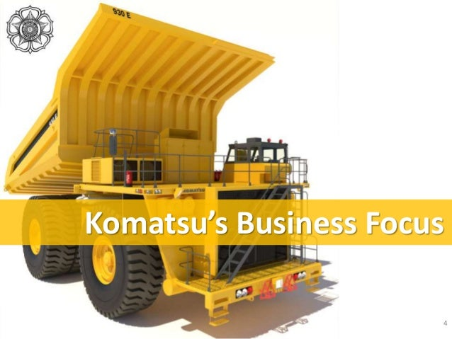 the komatsu ltd company and globalization Komatsu ltd, established in 1921, is a diversified provider of industrial-use products and services while remaining an international leader in the field of construction and mining equipment, the company engages in other business, such as industrial machinery and vehicles, logistics, electronics and other solutions-based operations.