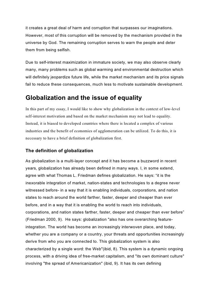 perspective on globalization The purpose of this assignment is to evaluate one of the main theoretical perspectives on globalization it will begin by defining the concept globalisation.
