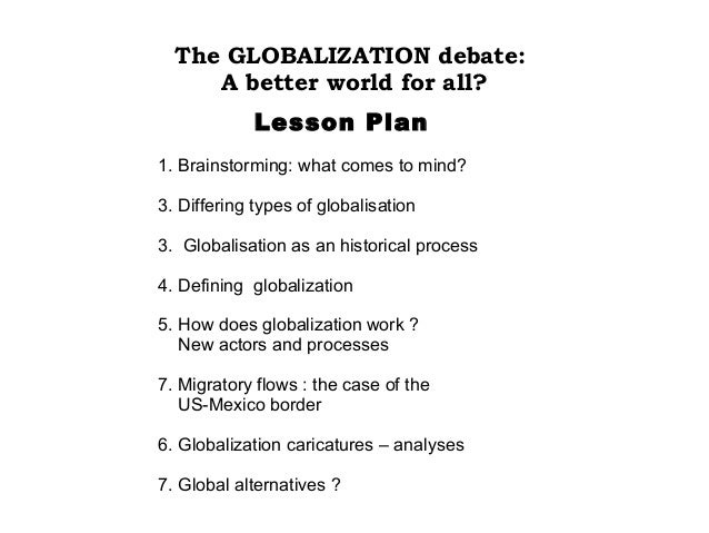 10 facts about globalisation