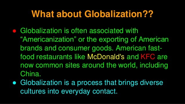 the globalization project in crisis Don't blame low working-class wages or the financial crisis for the populist  of  deepening fissures in the long-running project of globalization.