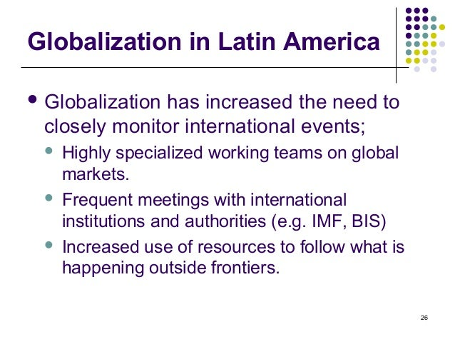 globalization of latin america an in depth After more than a decade of growth saw latin america's share of global gdp grow from  according to latin trade's latin globalization index  in depth  23 .