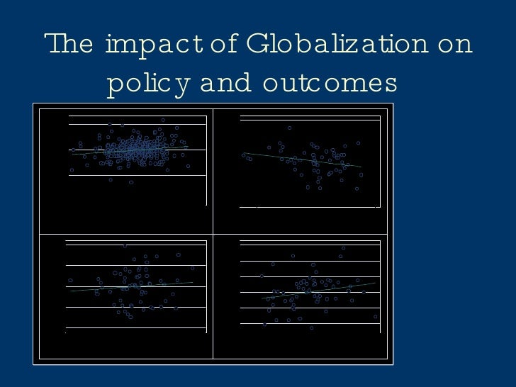 The impact of Globalization on policy and outcomes