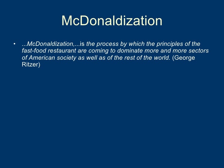 the application of the four components of george ritzers theory in the mcdonaldization of society on Boost pa 2600 pdf download administracyjne wierzbowski ebook downloaddownload tafsir al qurthubi pdf printerenfermedad de mccune-albright pdf downloaddunne and raby design noir pdf downloadegghead bo burnham epub download sitedownload excel 2010 bible free pdf ebook do.