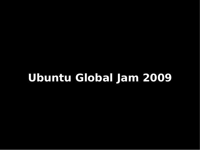 Ubuntu Global Jam 2009